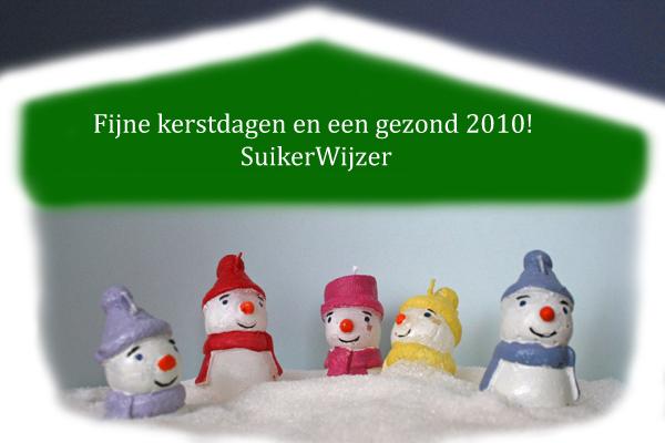 Fijne kerstdagen en een gezond 2010
